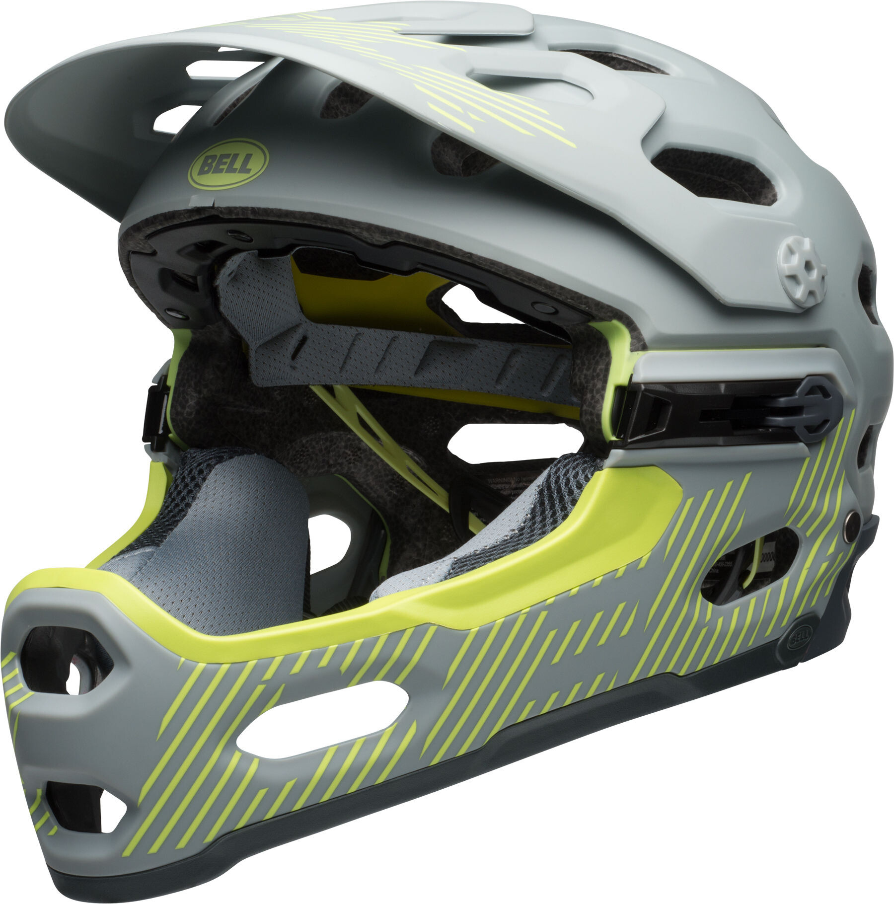 bell super 3r mips mtb helmet matte smoke pear online kaufen. Black Bedroom Furniture Sets. Home Design Ideas
